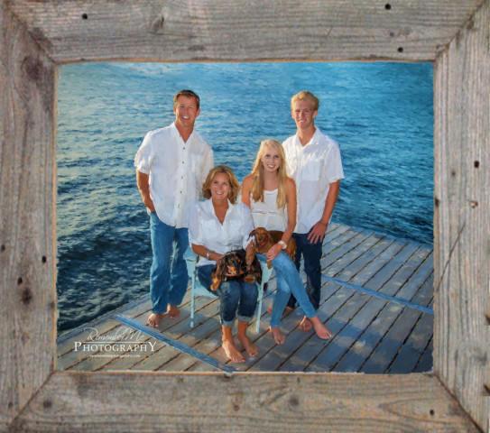 painted family lake